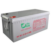 Quality Dux Battery AGM battery 12V 250AH lead acid battery VRLA battery long life battery seal acid maintenance free battery for sale