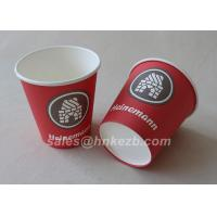 Quality Unfolded 10oz LOGO Printed Double Wall Paper Cups For Coffee / Beverage for sale