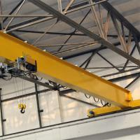 Quality Electric Single Beam Overhead Crane 5 - 20 Plants Warehouses 36m Lifting Height for sale