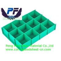 Buy cheap 2-7mm Colorful Polypropylene Corrugated Plastic Dividers for packing from wholesalers