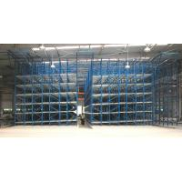 Quality 1500KG pallet rotation FIFO carton Flow Racks with roller track movement for sale