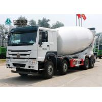 Quality 371HP 8X4 12 Wheels Concrete Mixer Truck for sale