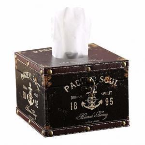 Buy cheap Anchor Sailor Circular Tissue Box Luxurious Box Europe Style Napkin Tissue from wholesalers