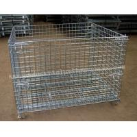 Quality Foldable Collapsible Wire Cage1200 X 1000mm For Warehouse for sale