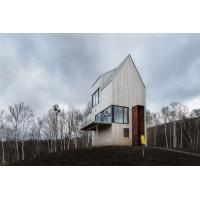 Quality Prefabricated Tower Cabin Makes Most Of The Splanded Landscape in Canadian for sale