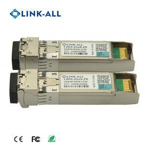 Quality 1.25G DWDM ZR/80km SFP Optical Transceiver with DDM Function for sale