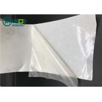 Quality Semi-transparent TPU hot melt film with release paper for garment adhesive for sale
