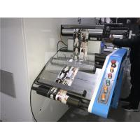 China Narrow Web Single Color Flexo Printing And Semi Rotary Automatic Die Cutting Machine on sale