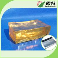 Quality Strong Packaging Hot Melt Adhesive Tape Semi Transparent Yellow and semi-transparent block for sale