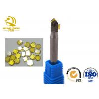 Quality Single Crystal Diamond Milling Cutter Double Edge Molding Knife Processing Workpiece Highlights for sale