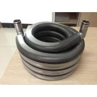 Quality Laser Welded Finned Tube Coil for Oil Cooler / Solar System / Water Heating for sale