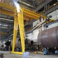 Buy cheap 10 Ton Workshop ,Low Noice 30m Lifting Height Double Girder Overhead Crane from wholesalers