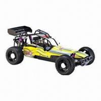 China 2.4GHz 1/5 Scale Gas Power RC Buggy with 23cc Engine, 2WD Twin Rear Disc Brake, Hobby Nitro Car on sale
