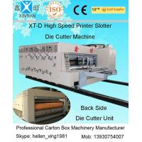China High Precision Steel Automatic Carton Making Machine CE with Ceramic Anilox Roller on sale