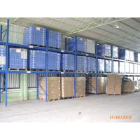 Quality Adjustable two level Warehouse Shelving Racks with forklift moving , 5000KG for sale
