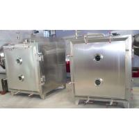 China Electric Cabinet Vacuum Shelf Dryer , High Performance Food Addtive Vacuum Tray Dryer on sale