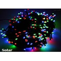 China Single Color / RGB Solar Powered LED String Lights Outdoor For Wedding Party 20m 200 Leds on sale