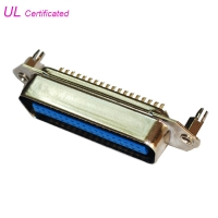 Quality DDK 14 24 36 50 64Pin Male Centronic Solder Contacts Connector With board lock for sale