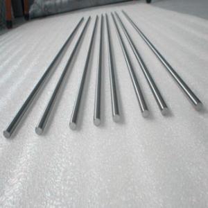 Quality hot sale best price high purity ASTM B737 99.5% hafnium round bar for sale