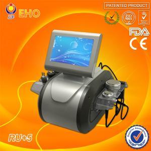 Quality vacuum cavitation system RU+5 ultrasonic cavitation rf vacuum slimming machine(EHO/factory) for sale