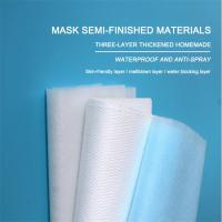 Quality 20gsm-150gsm Spunbond Nonwoven Fabric N99 Polypropylene Medical Meltblown Fabric for sale