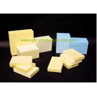 China Fire Reistant B1 Grade XPS Foam Board Blue / Yellow / Green Structural Insulated Panels on sale