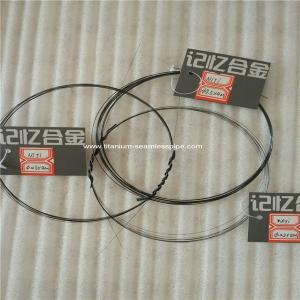 Quality nitinol wire ,titanium shape Memory alloy wire ,memory nitinol,nitinol,nitinol memory wire for sale