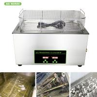 Quality Heated Industrial Pump Digital Ultrasonic Cleaning Machine Automatic 30l Tank for sale