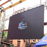 Quality HD Full Color Outdoor LED Screen Rental, P4 Movie TV LED Video Wall Panels for sale