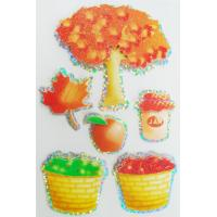 Quality Offset Printed Custom Holographic Stickers For Girls autumn season design for sale