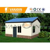 China Fire resistant Steel structure Modern Prefab Houses Home Apartment Installation on sale