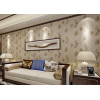 Quality Bronzing Modern Removable Wallpaper with Pottery Natural Crack for sale