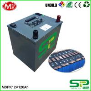 Quality battery storage 12v 24v LiFePO4 battery pack for media equipment/golfcart/solar panel/telecom for sale