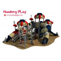 Quality Eco Friendly Amusement Park Outdoor Playground Slides , Kids Playground Equipment for sale
