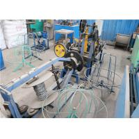Quality Stainless Steel Wire Barbed Wire Making Machine Compact Structure Saving Materials for sale