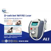 China 1600mj High Power Q Switched Nd Yag Laser Tattoo Removal Equipment / 1064 Nm 532nm Nd Yag Laser on sale