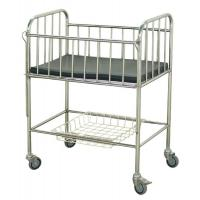 China Stainless Medical Pediatric Hospital Beds Baby Cot General Ward Use on sale