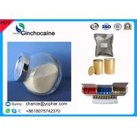 Quality Local Anesthetic Drugs 85-79-0 Cinchocaine Raw Powder Dibucaine Hydrochloride Local Pain Release Powder 61-12-1 for sale