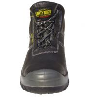 Quality Black Classic Leather Upper Steel Toecap Safety Shoes safety jogger / bestrun for sale