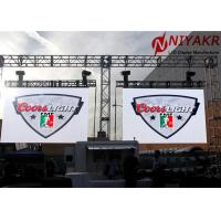 Quality High Contrast P8 Hire Big Screen Outdoor Full Color LED Display Dustproof 1R1G1B for sale