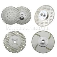 Quality Electroplated Diamond Cutting Blades & Discs for cutting and grinding marble, granite, thermosetting plastics for sale
