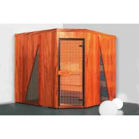 Quality 4 / 5 Person Traditional Saunas Room with Solid / Cedar Wood for sale