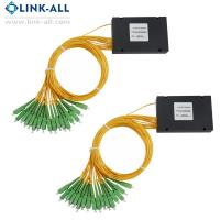 Quality 1x16 ABS Box PLC Splitter from Shenzhen Link-all Technology Co., Ltd for sale