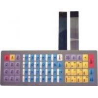 China Flexible Keyboard Metal Dome Tactile Membrane Switch with SGS / Rohs Certificates on sale