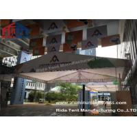 Quality Outdoor Aluminum Stage Truss LED Screen Lighting Truss Crank StandsWhite Fabric for sale
