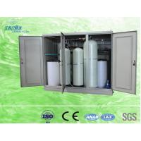 Quality Compact 100l Cabinet Water Softener Resin Replacement Water Treatment Process for sale