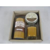 Quality OEM fragranced / bergamot decorative scented candles set of 3 for sale