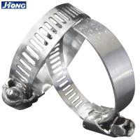 American / German Type Stainless Steel Hose Clamps Pipe Metal Tie Higher Torque