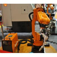 Quality High Efficiency Assembly Line Small Welding Industrial Robot , Installed On Floor for sale