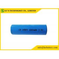 China 3V Lithium Primary Battery AA Size 1500mah CR14505 Lithium Battery on sale
